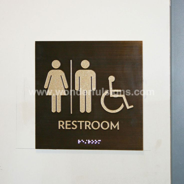 Restaurant Bathroom Signs 18 best signage images on pinterest | signage, condos and restroom