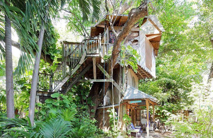 17 casas na árvore para você alugar pelo mundo