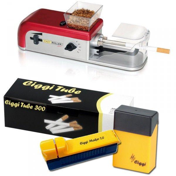 Easy Roller compact elektrische Zigarettenmaschine + gratis Hülsen