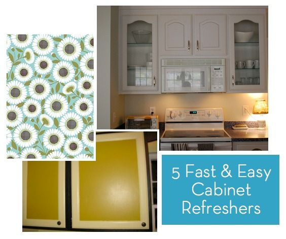 How To: 5 Fast and Inexpensive Ways to Refresh Your Kitchen Cabinets