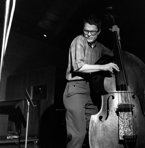 Charlie Haden.  Not just a wonderful bass player, but a great composer.  Leader of Quartet West.  HH