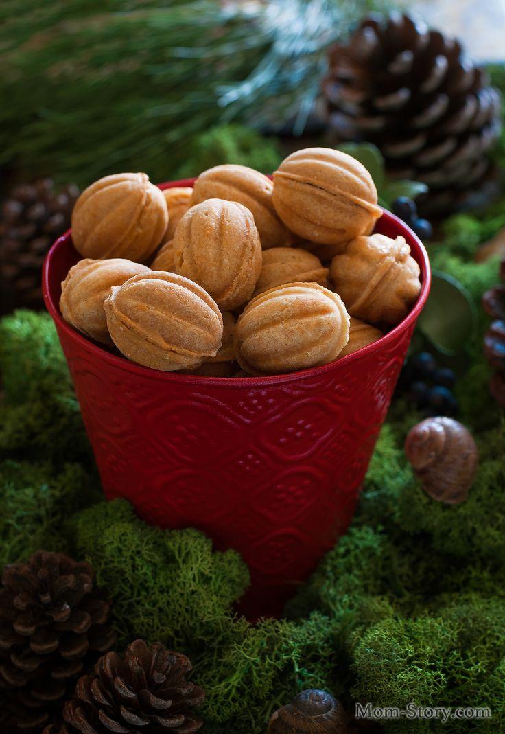Печенье орешки со сгущенкой - Mom Story