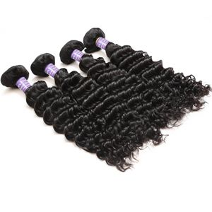 【Indian Diamond Virgin Hair】natural black human hair weave bundles raw indian deep wave remy hair cheap hair bundles wholesale indian deep wave hair     weave hair extensions online #indianhair #wholesalehair #virginhair