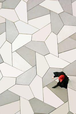 Pavement Tessellations - David Bailey's World of Escher-like Tessellations