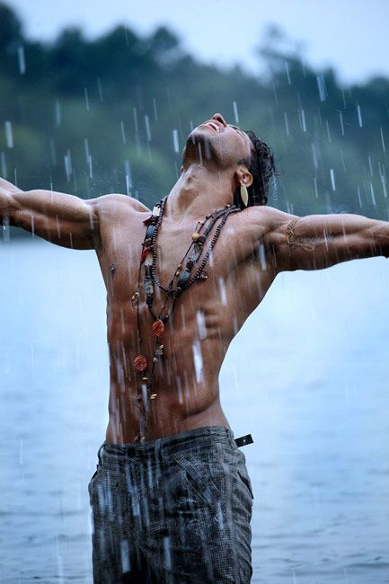 Sandro Milton Vieira Angélico, was a Portuguese model, actor and singer.  Died at 28, in June 2011.        Praising the rain. <3
