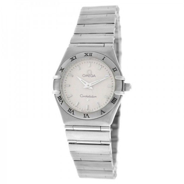 Pre-owned Omega Constellation Mini 25mm Stainless Steel Quartz Ladies... (19 815 UAH) ❤ liked on Polyvore featuring jewelry, watches, quartz wrist watch, quartz jewelry, water resistant watches, omega jewelry en omega watches