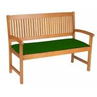 Doppler Sedák na lavici 2sed 120x45x6 cm zelená