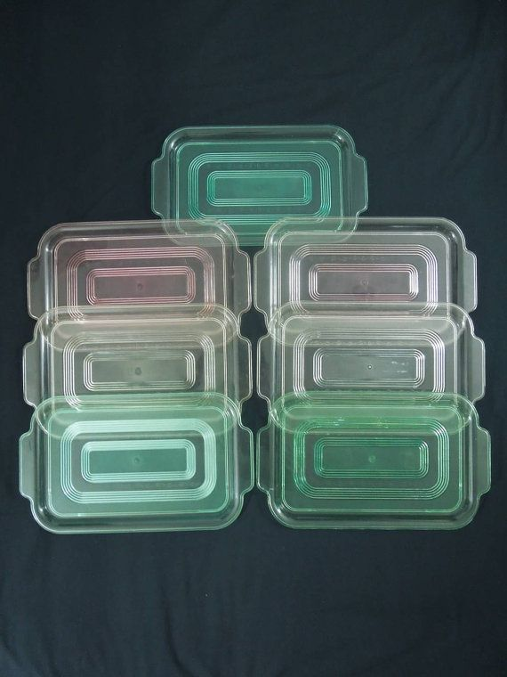 vintage plastic serving trays 7 pastel retro trays with etched design rectangular with handles
