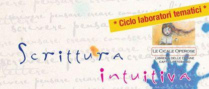 Laboratorio di scrittura intuitiva a Livorno.