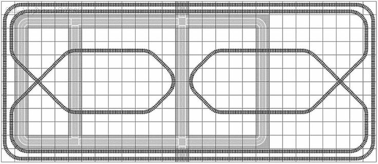 Lego Train Track Layout Geometry; Legal LEGO train track layout