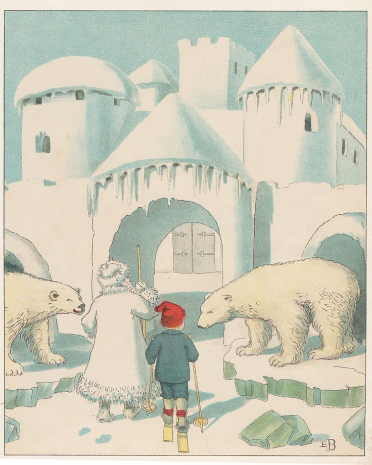 Elsa Beskow. Just like I was told there are polar bears in Copenhagen.