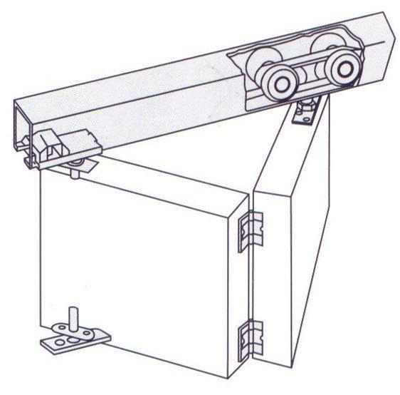 ... раздвижные двери EKF-120005 механизм Двери Раздвижные Механизм