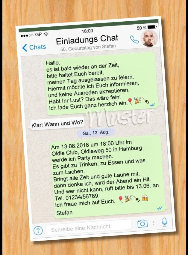 Whatsapp Einladung Geburtstag Vorlagen | ; P | Pinterest | Einladung  Geburtstag, Einladungen Und Geburtstage