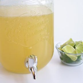 Big Batch Margarita Recipe - quadruple for 2 gallon dispenser