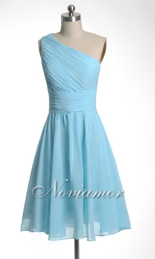 37 best bridesmaid dresses fashion images on pinterest for Short light blue wedding dress