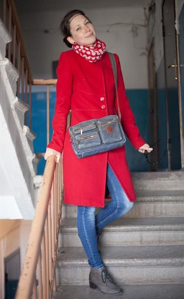 Красное пальто смолина