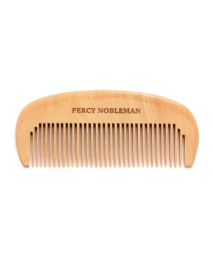 Grzebień do brody Percy Nobleman #beard #beardcare #BeardManPL