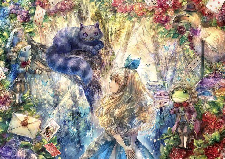 猫不思議の国のアリス9