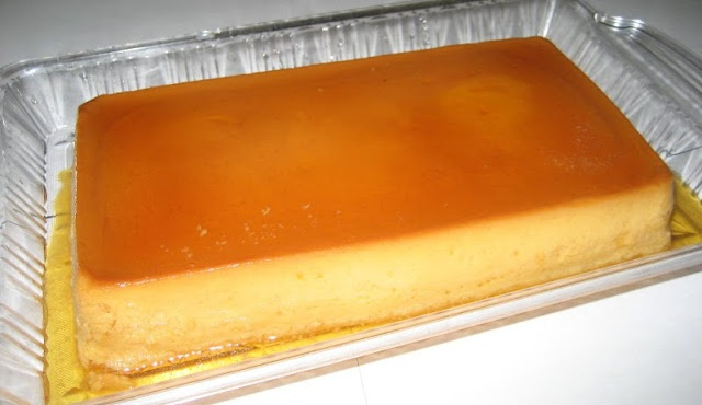 cream cheese flan, need to double recipe for my flan pan