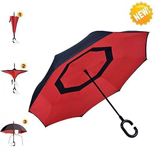 Elegant Regenschirm AIGUMI Innovative Winddichtes Regenschirm um https smile