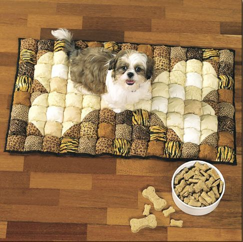 dog biscuit quilt My granddaughter will LOVE THIS!