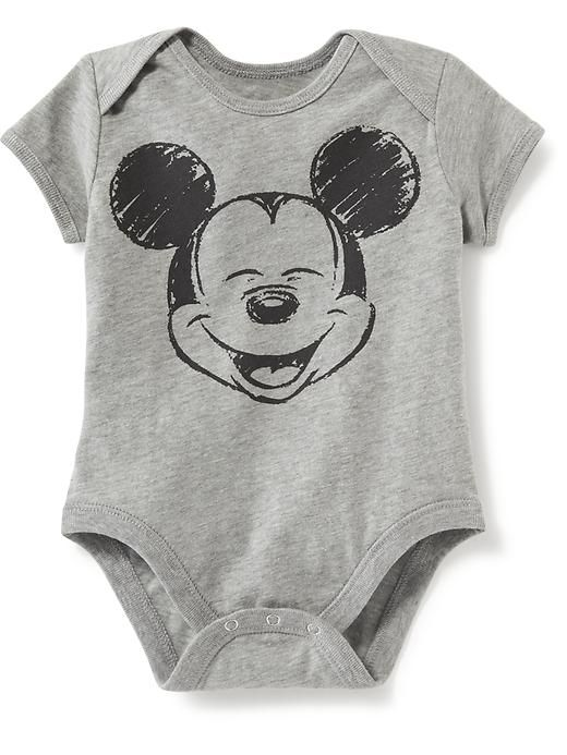 2890c9dd Disney© Mickey Mouse Bodysuit for Baby Product Image | Baby Baby!! |  Baby boy outfits, Disney baby clothes, Baby