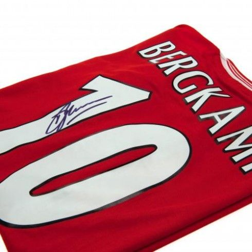 Arsenal F.C. Bergkamp Signed Shirt