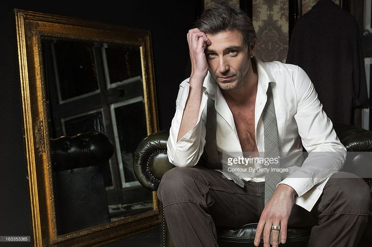 Actor Daniele Liotti is photographed for Self Assignment on January 30, 2013 in Rome, Italy.