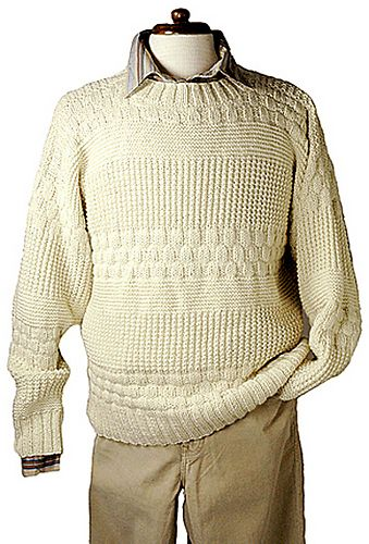 Free Pattern: Andoa Pullover (for men)