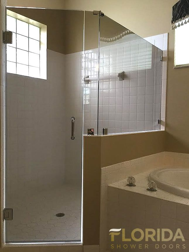 Semi Frameless Shower Enclosures 34 best frameless shower doors images on pinterest | frameless