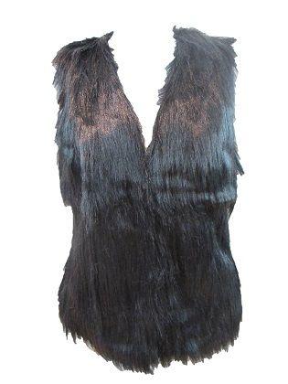 Chaleco Natalia  Chaleco de pelo largo. Cierre con corchetes. Disponible en dos colores.