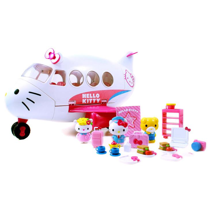 Hello Kitty Toys R Us : Jada toys hello kitty jet plane play set world