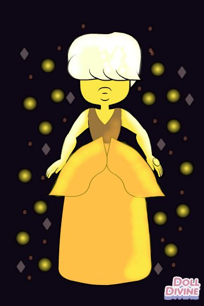 Yellow sapphire by FunnytheCat10 ~ Steven Universe Gemsona Maker