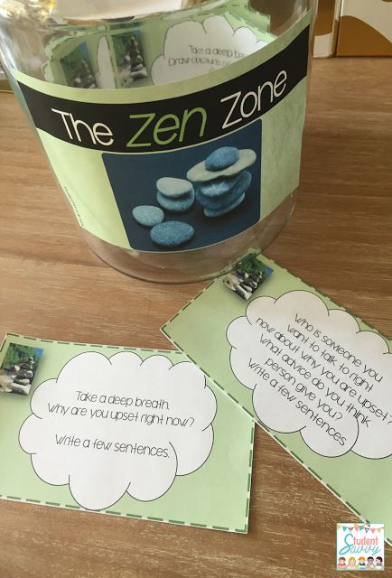 I LOVE this idea! I could even include smooth rocks for students who need a sensory break.