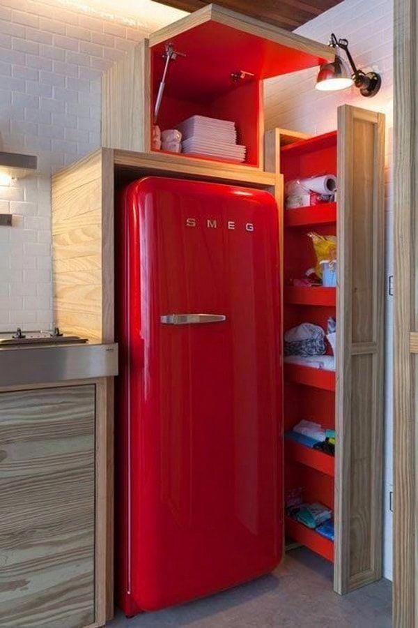 Muebles Funcionales Para Cocinas Pequenas Muebles Inteligentes Para Espacios Pequenos Tipsd Decoracion De Cocinas Pequenas Nevera Retro Decoracion De Cocina