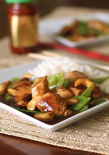 Stir-Fry Cashew Chicken