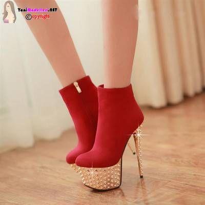 Yüksek Topuklu Ayakkabı Modelleri 2015