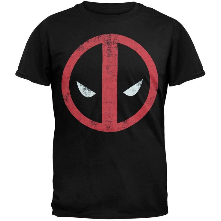 Deadpool - Distressed Logo Soft T-Shirt
