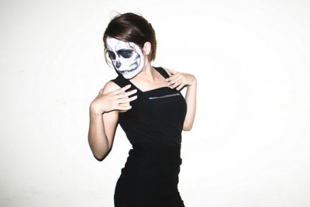 13 Little Black Dress Halloween Costume Ideas