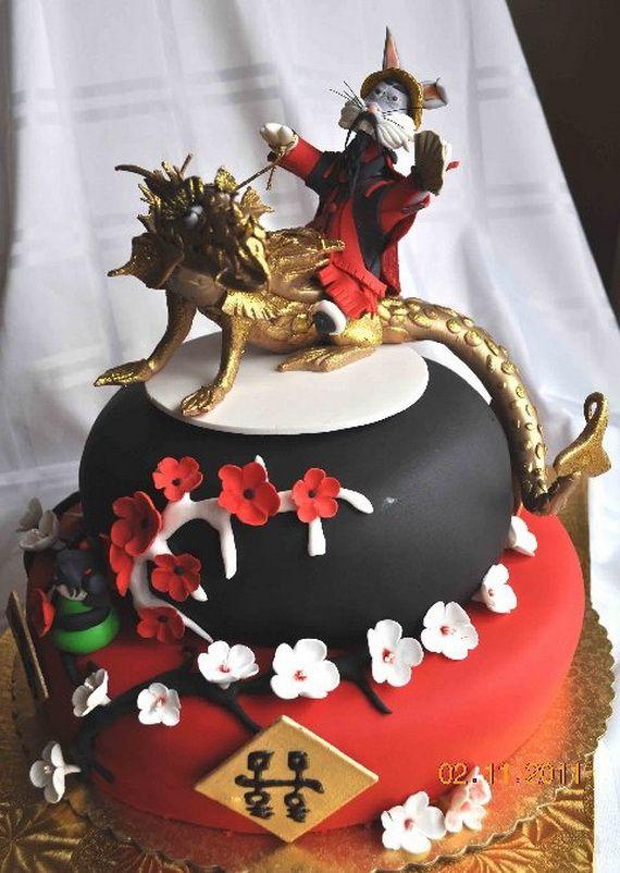 Chinese Cake Decorating Ideas
