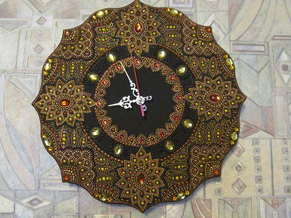 МК часы с точечной росписью