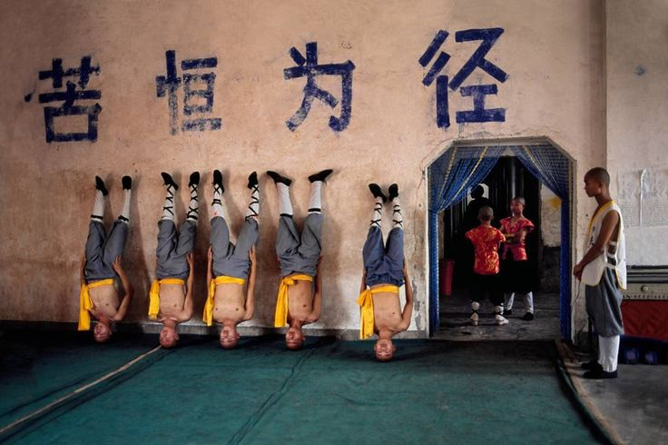 Photo by @stevemccurryofficial // The world famous Shaolin Monastery is known to many in the West for its association with martial arts specifically Shaolin Kung Fu. The physical strength and dexterity displayed by the monks is incredible although they exude a deep serenity. by natgeo