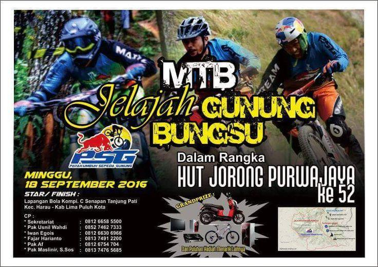 Jelajah Sepeda Gunung Payakumbuh 2016