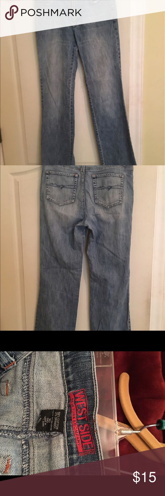 Woman's jeans These are in good shape. Very comfortable!! New York & Company Jeans Boot Cut