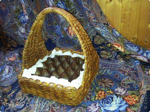 Готовимся к Пасхе. Плетем корзинку для пасхальных яиц