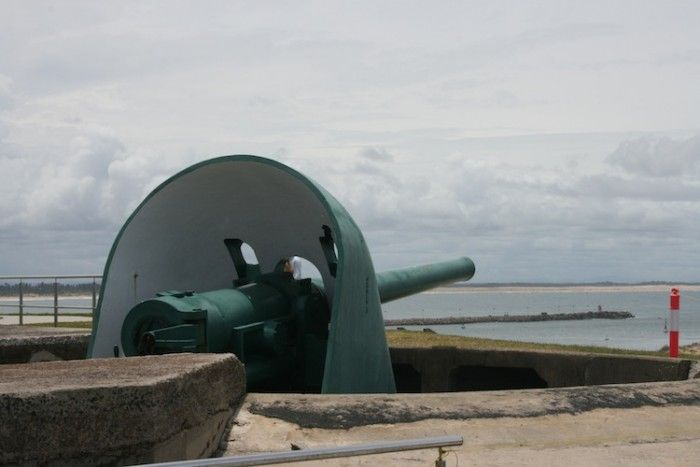 You and your family can walk around Fort Scratchley for free.