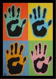 Drukken met je handen