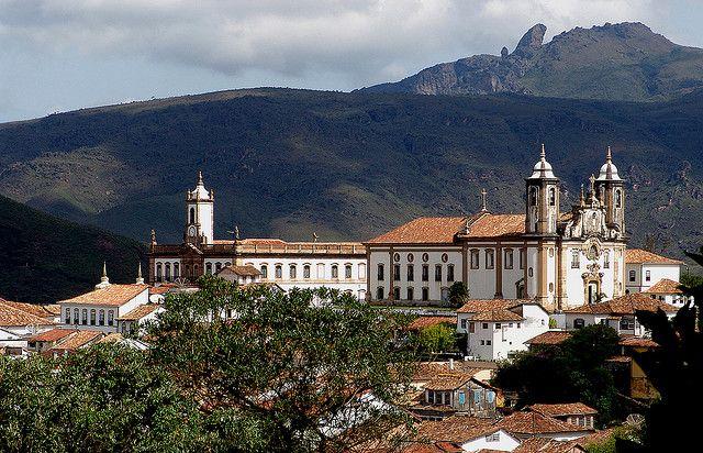 Centro Histórico de Ouro Preto – MG - Brasil
