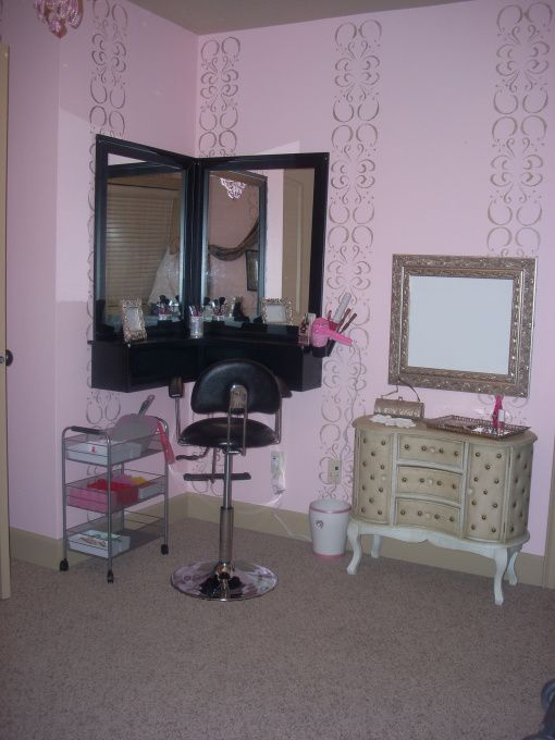 Old Hollywood Glam Room Home Decor Girly Dream Rooms Pinterest Room Makeup Dresser And
