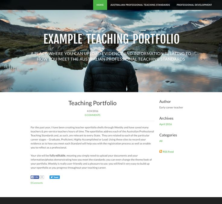 """Like"" this resource for a discountLike this resource? Tell your friends by using the social media icons and a discount will be applied to your purchase at checkout. Share Have a Portfolio Created For You: For the past year, I have been creating teacher eportfolio shells through Weebly and have saved many teachers & pre-service …"